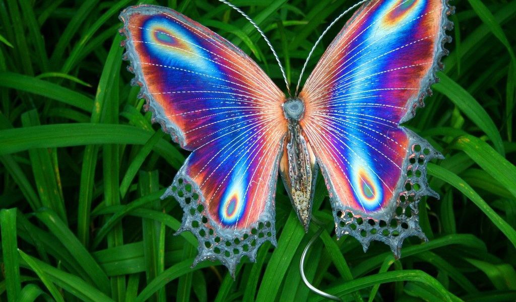 Animals Insects Artificial butterfly 041593 27