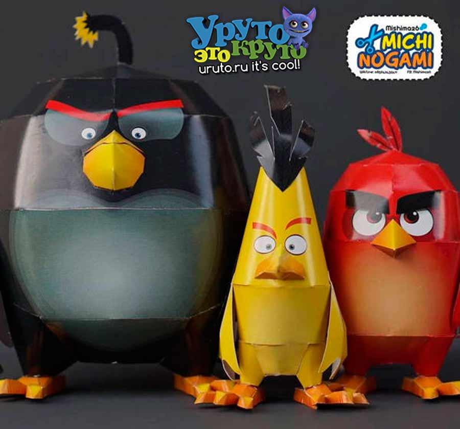 Angry Birds Papercrafts