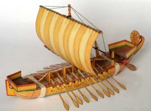 Ancient-Egyptian-Sailboat-Paper-Model
